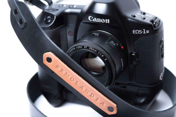 Kişiye Özel Kamera Askısı, Hakiki Deri Fotoğraf Makinesi Askısı, Kişiye Özel Hediyelik Fotoğraf Makine Askısı, Hakiki Deri Kamera Boyun Askısı, Deri Fotoğraf Makinesi Boyun Askısı, Siyah