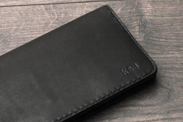 Kişiye Özel Uzun Portföy Cüzdan, Portföy Kredi Kartı Cüzdanı, Minimal Deri Bifold Cüzdan, Çift Katlı Deri Cüzdan, El Yapımı & El Dikişi Deri Cüzdan, Siyah
